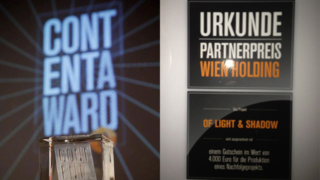 Of Light & Shadow – Content Award 2012